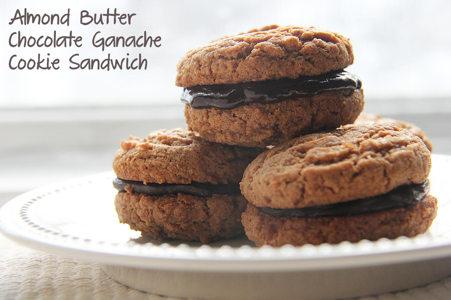 chocolate dipped almond cookies mrfood com sandwiches in the chocolate ...